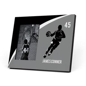 Basketball Photo Frame - Personalized Basketball Guy Player