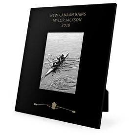 Crew Engraved Picture Frame - Rower
