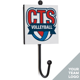 Volleyball Medal Hook - Your Logo