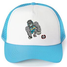 Seams Wild Wrestling Trucker Hat - Gorsnore