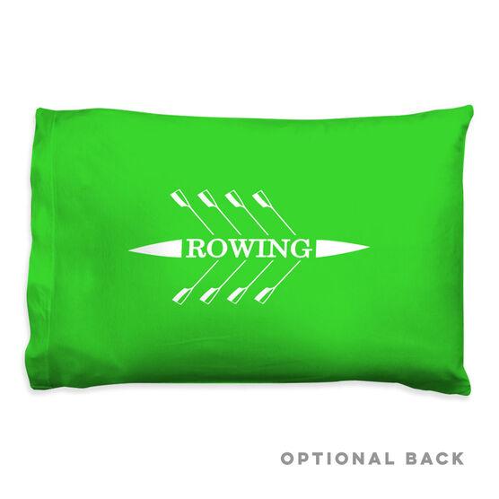 Crew Pillowcase - Rowing Boat