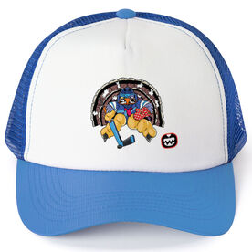Seams Wild Hockey Trucker Hat - Gobblechuck