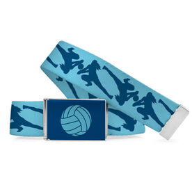 Volleyball Lifestyle Belt Girl Player Pattern
