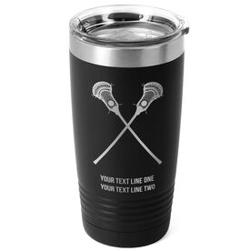 Guys Lacrosse 20 oz. Double Insulated Tumbler - Crossed Sticks Icon