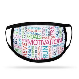Running Adult Face Mask - Motivation