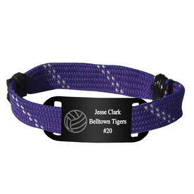 Personalized Volleyball Lace Bracelet Ball Adjustable Sport Lace Bracelet