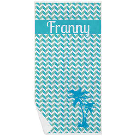 Personalized Premium Beach Towel - My Own Oasis