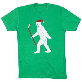 Hockey Tshirt Short Sleeve Abominable Hockey-man