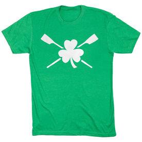 Crew Tshirt Short Sleeve Shamrock Oars