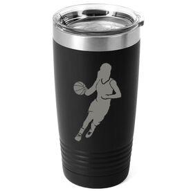 Basketball 20 oz. Double Insulated Tumbler - Girl Player