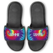 Personalized Repwell® Slide Sandals - Tie-Dye