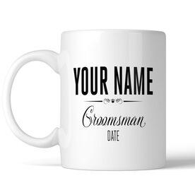 Wedding Party - Groomsman Personalized Coffee Mug