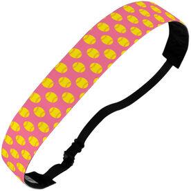 Softball Juliband No-Slip Headband - Softball Pattern