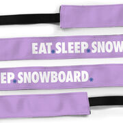 Snowboarding Juliband No-Slip Headband - Eat Sleep Snowboard