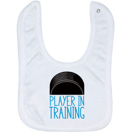 Hockey Baby Bib - Player In Training