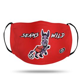 Seams Wild Soccer Face Mask - Mulekick