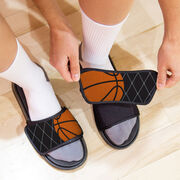 Basketball Repwell® Slide Sandals - Ball Reflected