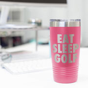 Golf 20 oz. Double Insulated Tumbler - Eat Sleep Golf