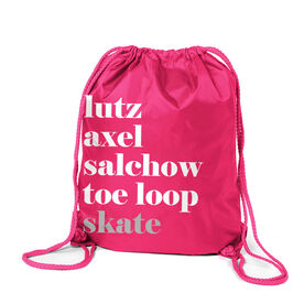 Figure Skating Sport Pack Cinch Sack - Skate Mantra