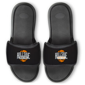 Basketball Repwell™ Slide Sandals - Your Logo