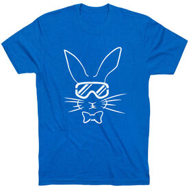 Skiing Short Sleeve T-Shirt - Hopster Ski Bunny
