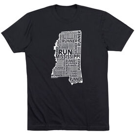 Running Short Sleeve T-Shirt - Mississippi State Runner
