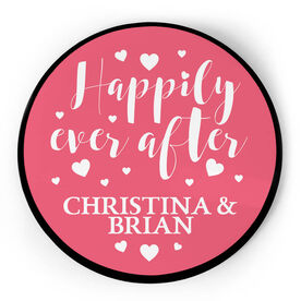 Personalized Circle Plaque - Happily Ever After