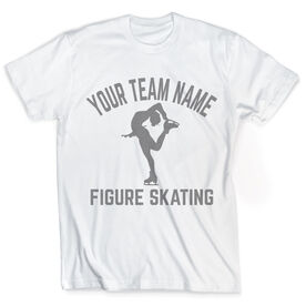 Vintage Figure Skating T-Shirt - Personalized Team