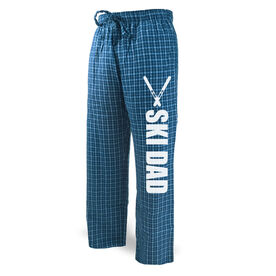 Skiing Lounge Pants Ski Dad with Skis