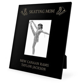 Figure Skating Engraved Picture Frame - Skating Mom