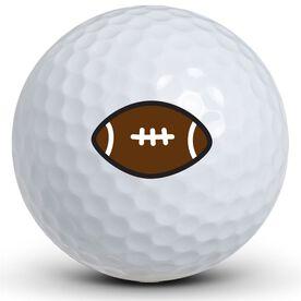 Football Logo Golf Balls