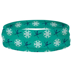 Skiing Multifunctional Headwear - Skier Pattern RokBAND