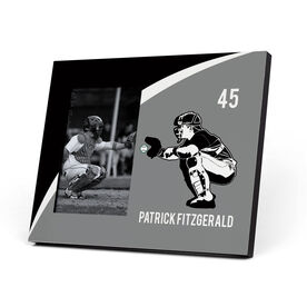 Baseball Photo Frame - Personalized Catcher