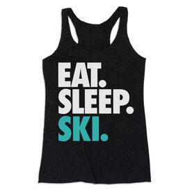 Skiing & Snowboarding Women's Everyday Tank Top - Eat. Sleep. Ski