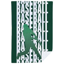 Baseball Premium Blanket - Fade