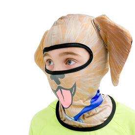 Happy Hatter Dog Balaclava Head Mask