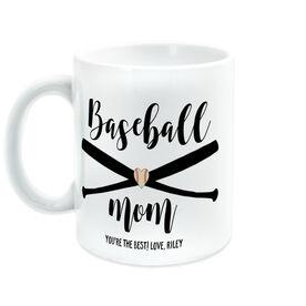 Baseball Coffee Mug - Baseball Mom
