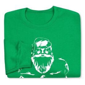 Football Crew Neck Sweatshirt - Santa Player