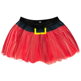 Runner's Printed Tutu Santa Skirt