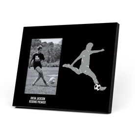Soccer Photo Frame - Male Player