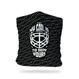 Hockey Multifunctional Headwear - My Goal Is To Deny Yours Goalie RokBAND