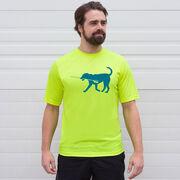 Crew Short Sleeve Performance Tee - Cody The Crew Dog