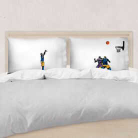 Basketball Pillowcase Set - Shoot The Three