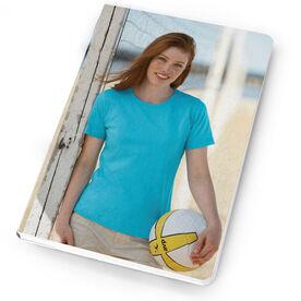 Volleyball Notebook Custom Photo