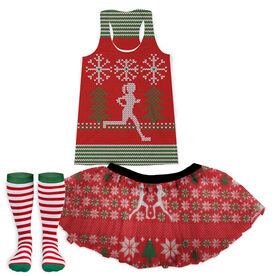 Ugly Sweater Running Outfit