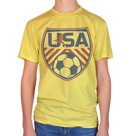 Vintage Soccer T-Shirt - USA