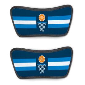 Basketball Repwell™ Sandal Straps - Simple Stripe