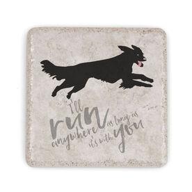 Running Stone Coaster - I'll Run Anywhere