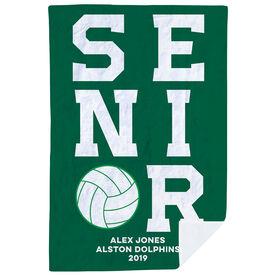 Volleyball Premium Blanket - Personalized Senior