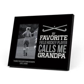 Field Hockey Photo Frame - Grandpa